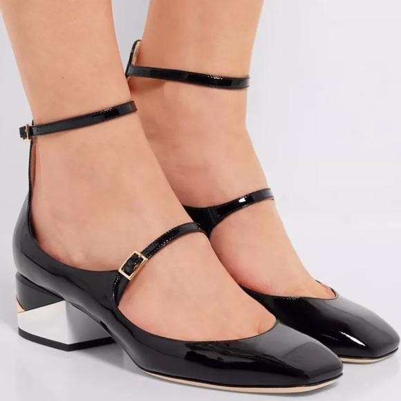 e3c82651086f3 Jimmy Choo Shoes | New Patent Wilbur Mary Jane 40 Pumps | Poshmark